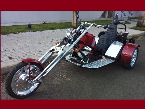 Imagem 1 de 15 de Triciclo Sport 1.8 Ano 2020 Harley Chopper Bobber Hot Rod
