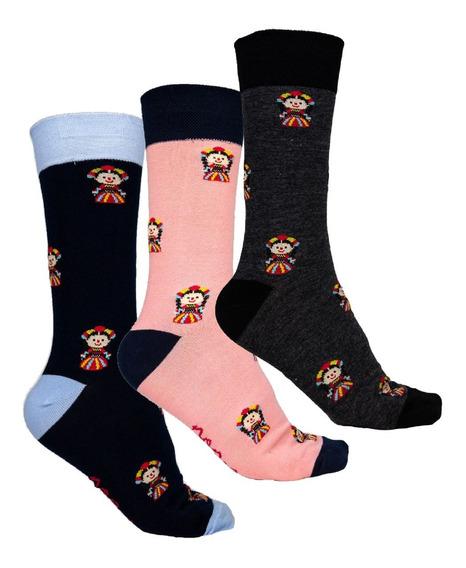 Set De 3 Calcetines Noma Outfitters Las Merrys Unisex