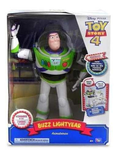 Muñeco Buzz Cae Por Tu Voz Toy Story 4 Original 65 Frases