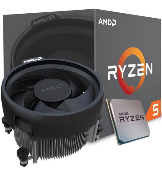 Processador Am4 Amd Ryzen 5 1600 3.6ghz Turbo Box C/ Cooler