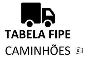 Tabela Fipe Caminhões (excel) - Versão Jul De 2019