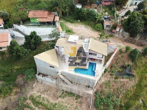 Chácara Com 4 Dormitórios À Venda, 3000 M² Por R$ 1.200.000,00 - Vitória Régia - Atibaia/sp - Ch0595