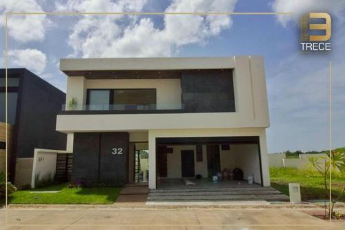 Imagen 1 de 20 de Casa Con Extraordinarios Acabados En Punta Tiburón