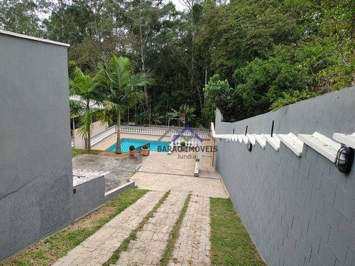 Imagem 1 de 17 de Chácara Com 4 Dormitórios À Venda, 1264 M² Por R$ 798.000,00 - Castanho - Jundiaí/sp - Ch0086