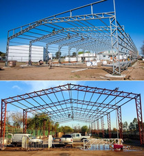 Galpones-estructuras Metálicas-montaje-construcción Grl