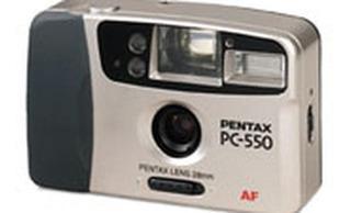 Cámara Pentax Modelo Pc-550 Autofocus Analoga