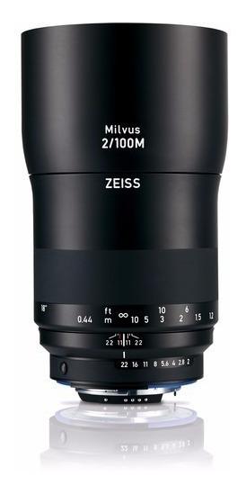 Zeiss Milvus 100mm F/2m Zf.2 Lente Para Canon E Nikon