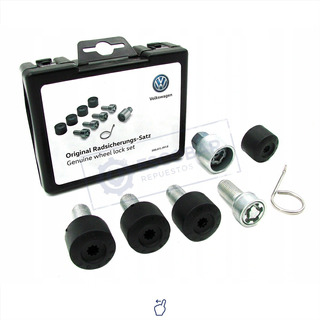 Kit Tuercas De Seguridad Antirrobo Vw Golf