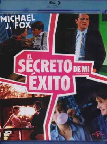 Imagen 1 de 3 de El Secreto De Mi Exito Michael J Fox Pelicula Blu-ray