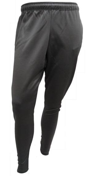 Pantalon Jogging Deportivo Hombre Negro Con Cierre