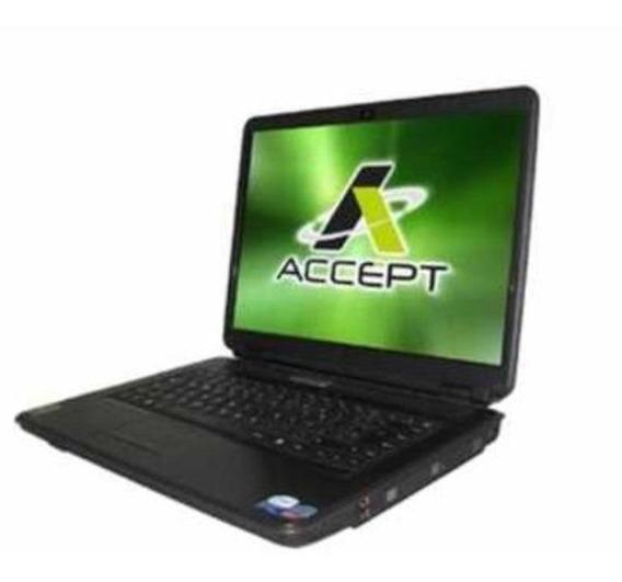 Notebook Accept C2d T7500 2,2ghz 4 Gb667 Hd 500gb Gf8400