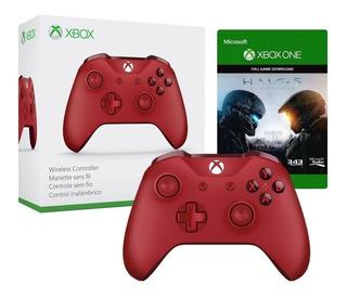 ..:: Control Xbox One Slim Rojo Con Bluetooth ::.. En Gcente