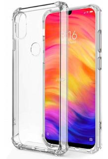 Funda Tpu Transparente Xiaomi Redmi 7a + Vidrio Templado