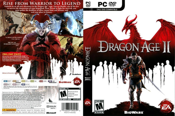 Jogo Dragon Age 2 Para Pc