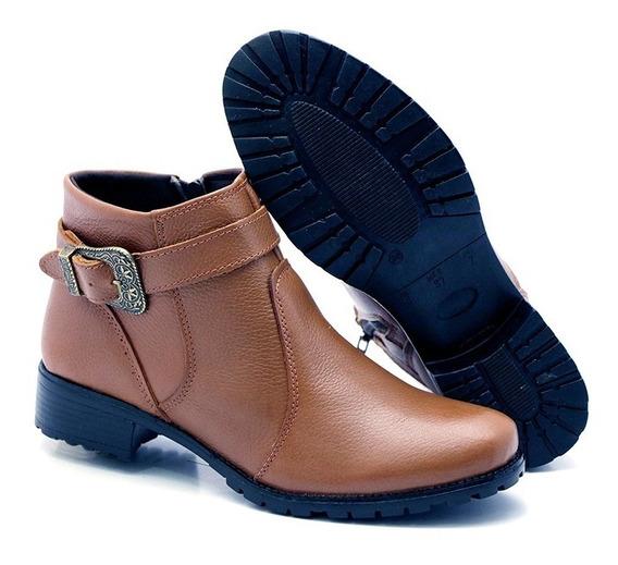 Coturno Sapato Sandália Bota Montaria Cano Curto Feminina