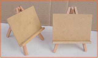 20 Mini Atril De Fibrofacil 10x7 + 1 De 13x18
