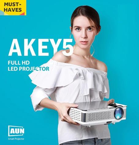 Projetor Full Hd 3800 Lumens 4k Wi-fi