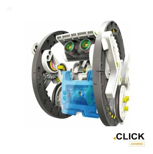Juguete Robot Solar Armable 14 En 1 / Click Ahorro