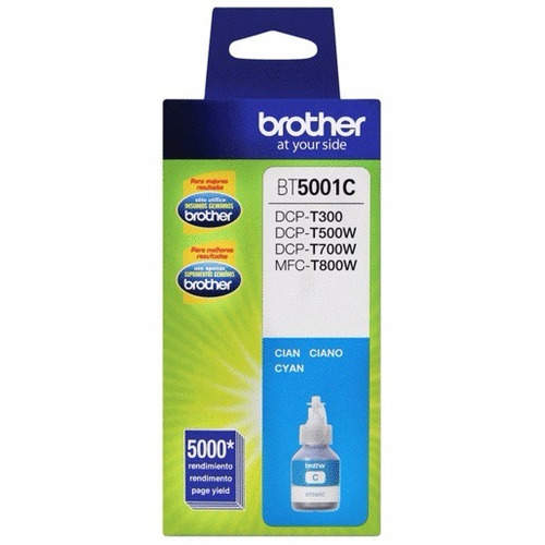 Tinta Brother Cyan Bt5001c