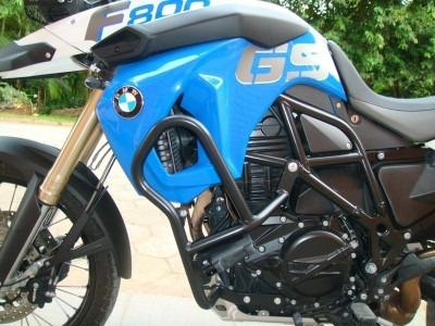 Protetor Motor E Perna Bmw 800 Gs Até 2017 Com Pedal