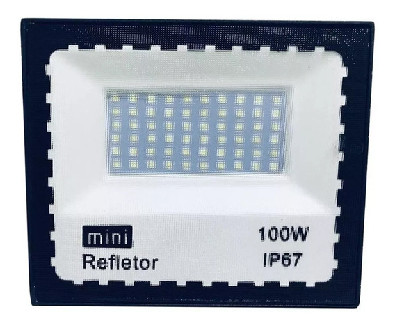 Refletor Led 100w Holofote A Prova D