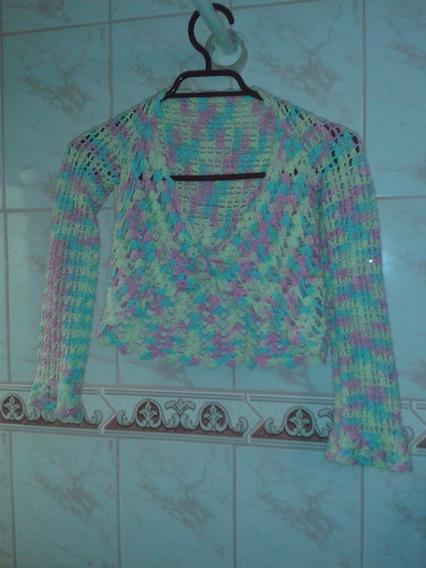 Chalecos A Crochet,talla 8, Tipo Peto, Veraniegos, Sin Uso.