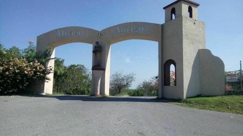 Terreno Venta En Fraccionamiento Campestre Mision Antigua En Cadereyta, Nl.