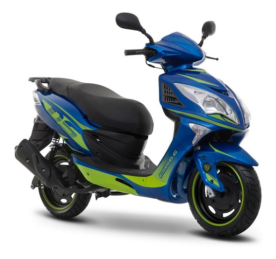Moto Italika Ds150g Azul Verde