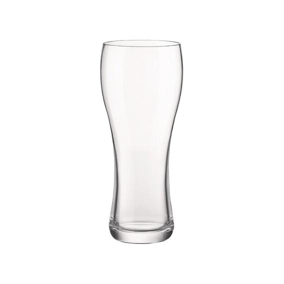 Set X6 Vasos Cerveza Vidrio Pinta Stout Weizen Bormioli 407c