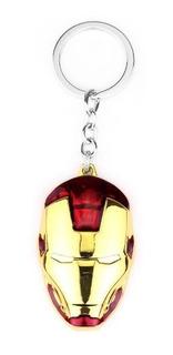 Llavero Metálico Iron Man Marvel Avengers Mano Cara