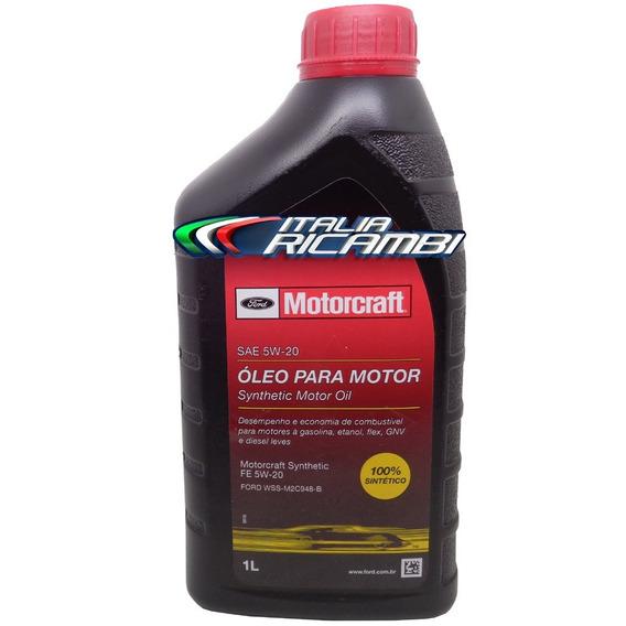 Óleo De Motor Ford Motorcraft 5w20 100% Sintético Novo Focus E New Ka Original Revisão Ford 10000 Km