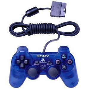 Imagen 1 de 1 de Ps2 Dualshock 2 Controlador - Ocean Blue