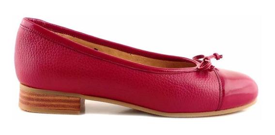 Chatita Cuero Mujer Briganti Zapato Mocasin - Mccha2907 Vh