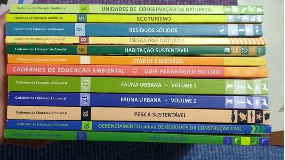 Coleção Cadernos De Educação Ambiental + Dicionário+ Brinde