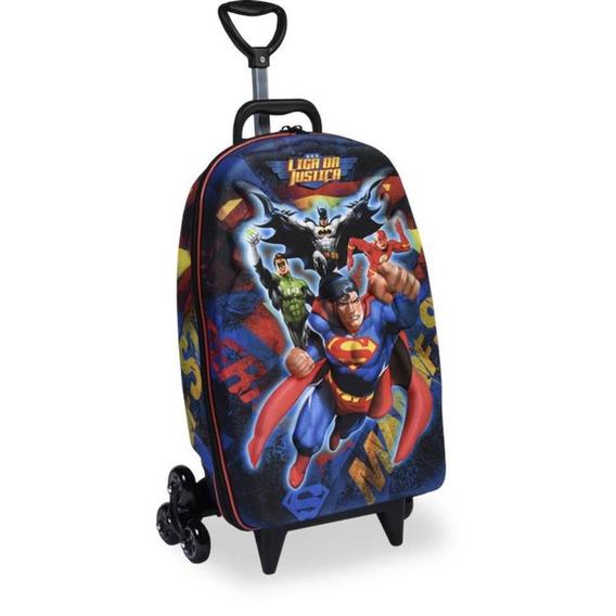Mochila Liga Justica Superman 3d - Diplomata