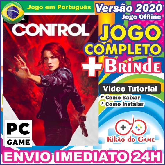 Game Control Jogo Control Pc Digital Br + Brinde