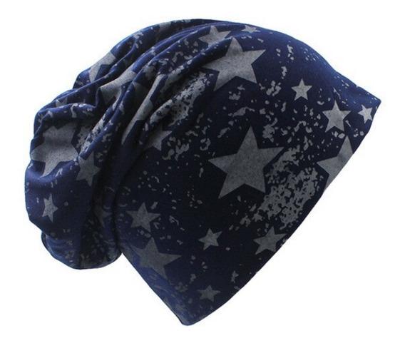 Beanie Gorro - Estampado Estrelas