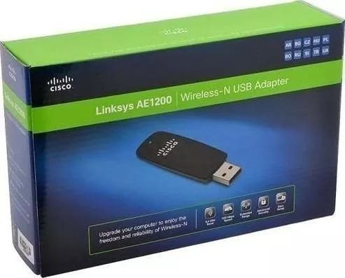 Adaptador Wireless Usb Linksys Ae1200 300mbps