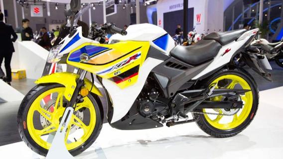 Motocicleta Lifan Kpr200 Con Casco De Regalo