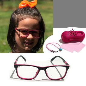 715094683 Armação Oculos Feminino Infantil Tm P Flexível 8311 Niuji
