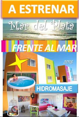 Frente Al Mar Departamento Casa Mar Del Plata Alquiler Playa