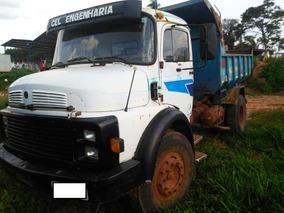 Caminhão Mb 1313 Toco Caçamba - Ano 1972