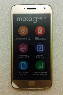 Smartphone Motorola G5 Plus Dorado