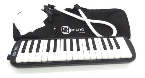 Escaleta 32 Teclas Melódica Com Bag Completa Spring Promoção
