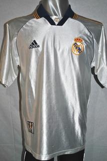 Camiseta Del Real Madrid adidas 2000. Talle M