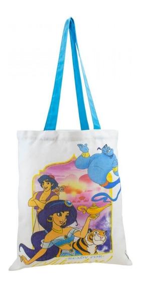 Bolsa Feminina Sacola Personagens Aladdin Disney
