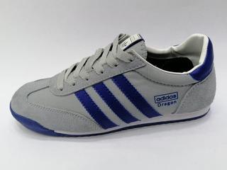 adidas dragon gris azul