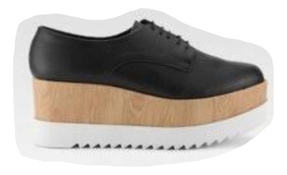 Zapatos Dorothy Gaynor Plataforma Negros Moda Remate Lindos