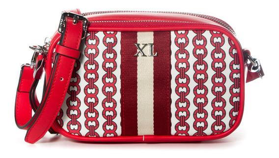 Bandolera Mujer Xl Extra Large Dixie Rojo