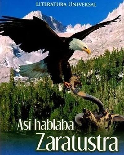 Libro Así Hablaba Zaratustra  Editorial Comcosur Original